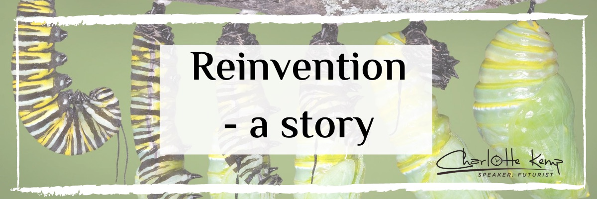 Reinvention story Futurist Charlotte Kemp