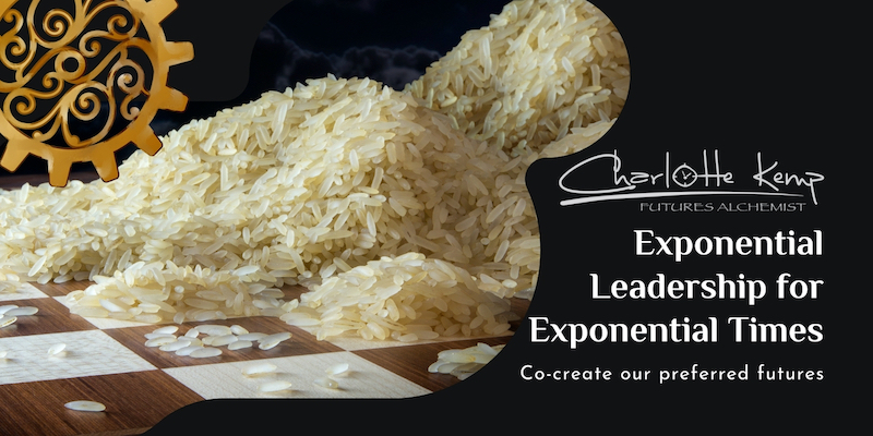 Exponential Leadership for Exponential Times